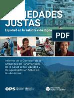 PAHO OPS 2019 - DSS Completo y Justicia Social - Sociedades Justas (Octubre 2019)