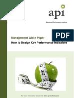 100608 How to design Key Performance Indicators