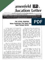 The Blumenfeld Education Letter Feb 1987