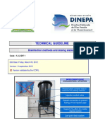 DINEPA 1.2.2 DIT1 Disinfection methods and dosing stations