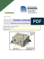 DINEPA 4.1.1 DIT1 Realization of masonry civil engineering works