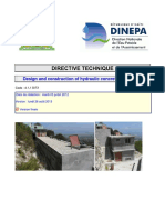 DINEPA 4.1.1 DIT2 Design and construction of hydraulic concrete structures