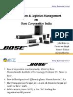 bose market share