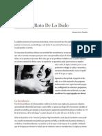 El Espejo Roto de Lo Dado - Simon Ortiz Pinilla