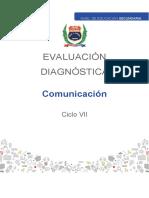 Comunicación Ciclo Vii Evaluación Diagnostica 2021 (1) (1)