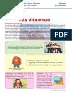 Las Vitaminas Para Sexto de Primaria