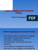 Online Shopping and Consumer Phobia