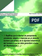 Reforma y Contrarreforma Cuarto 2011