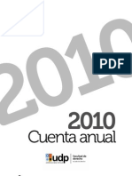 Cuenta Anual Derecho 2010