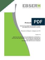Protocolo de Sedacao e Analgesia