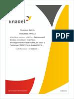 Dp Recrutement de Deux Consultants en Developpement Web Et Mobile en Appui Au P-digitech-Vu