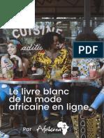 Afrikrea Le Livre Blanc de La Mode Africaine en Ligne 20180923