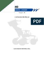 Catálogo de Peças Pá Carregadeira XCMG LW500BR