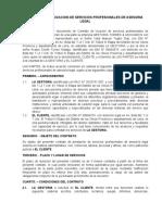 CONTRATO DE SERVICIO DE ASESORIA ACASIO