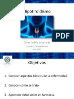 Presentación Hipotiroidismo
