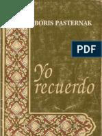 YO RECUERDO_Boris Pasternak