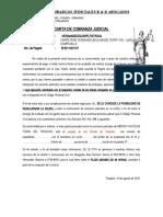Cartas Notariales