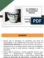 Aula-10-b.f. Skinner e o Behaviorismo Radical..