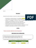 Projeto NR 20