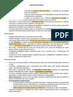 00. Poderes Administrativos - texto - Resumo - Prof. Dr. Vladimir da Rocha França