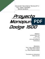 Proyecto Monopunto Dodge 1500 v2011