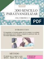 UN METODO SENCILLO PARA EVANGELIZAR1