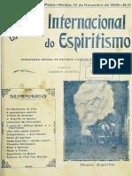 Revista Internacional do Espiritismo v12 nª10 nov.1936