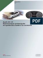 Audi A3 '13 Électronique Embarquée Et Systèmes d'Aide à La Conduite