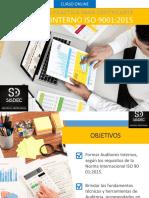 Informativo Curso Auditor Interno ISO 9001 2015