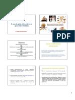 Aula 6 - Uso de guias alimentares na prescrição dietética