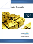 Daily Commodity Newsletter by Capital Height 25-03-11