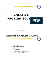 CreativeProblemSolving