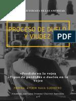 5.1 PROCESO DE DUELO Y VIUDEZ