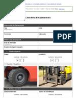 03- Checklist Empilhadeira