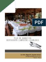 Miguel R. Guanilo Gómez - Plan de Marketing