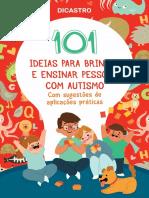 101 IDEIAS PARA BRINCAR E ENSINAR PESSOAS COM AUTISMO