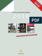 Verlagsprogramm 2018 Web