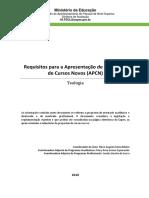 CAPES - Requisitos para a Apresentação de Propostas (2016)