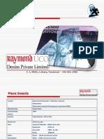 Raymond u Code Nim Pv t Ltd Yavatmal