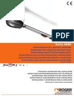 Serie m40 Instructions Pour Installateur (1)