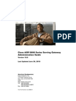 ASR 5000 Serving Gateway Admin Guide