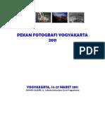 Proposal Pekan Fotografi Yogyakarta 2011