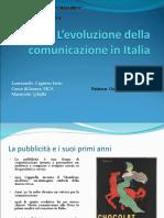 L'Evoluzione Dellacomunicazione in Italia
