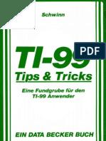 TI-99 Tips & Tricks Exact