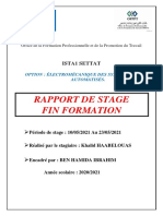 Rapport Roca Finale