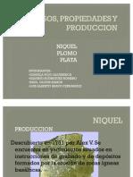 USOS, PROPIEDADES Y PRODUCCION