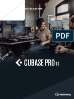 Cubase Pro 11 Operation Manual Ru