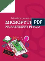 eBook Primeiros Passos Com Micropython Na Raspberry Pi Pico