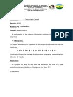 Guía de ejercicios UNIDAD II. MEJORA CONTINUA