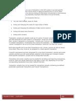 Transition Variant in SAP ABAP